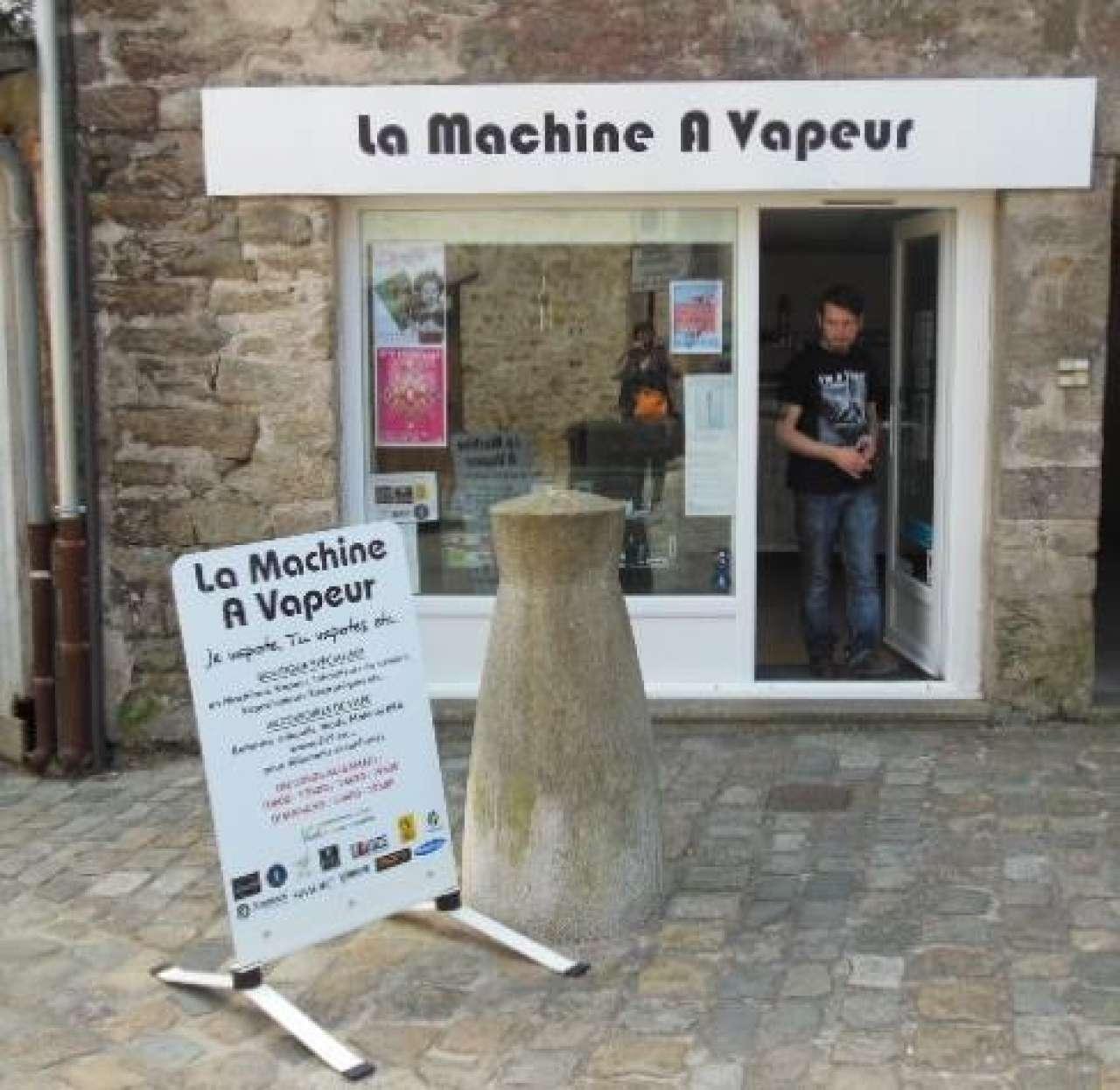 Image LA MACHINE À VAPEUR
