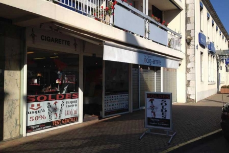 Boutique de vape spécialisée Kumulus Vape située à ORTHEZ