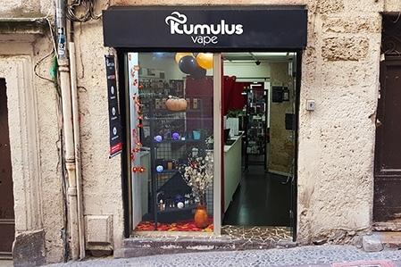 Boutique de vape spécialisée Kumulus Vape située à MONTPELLIER