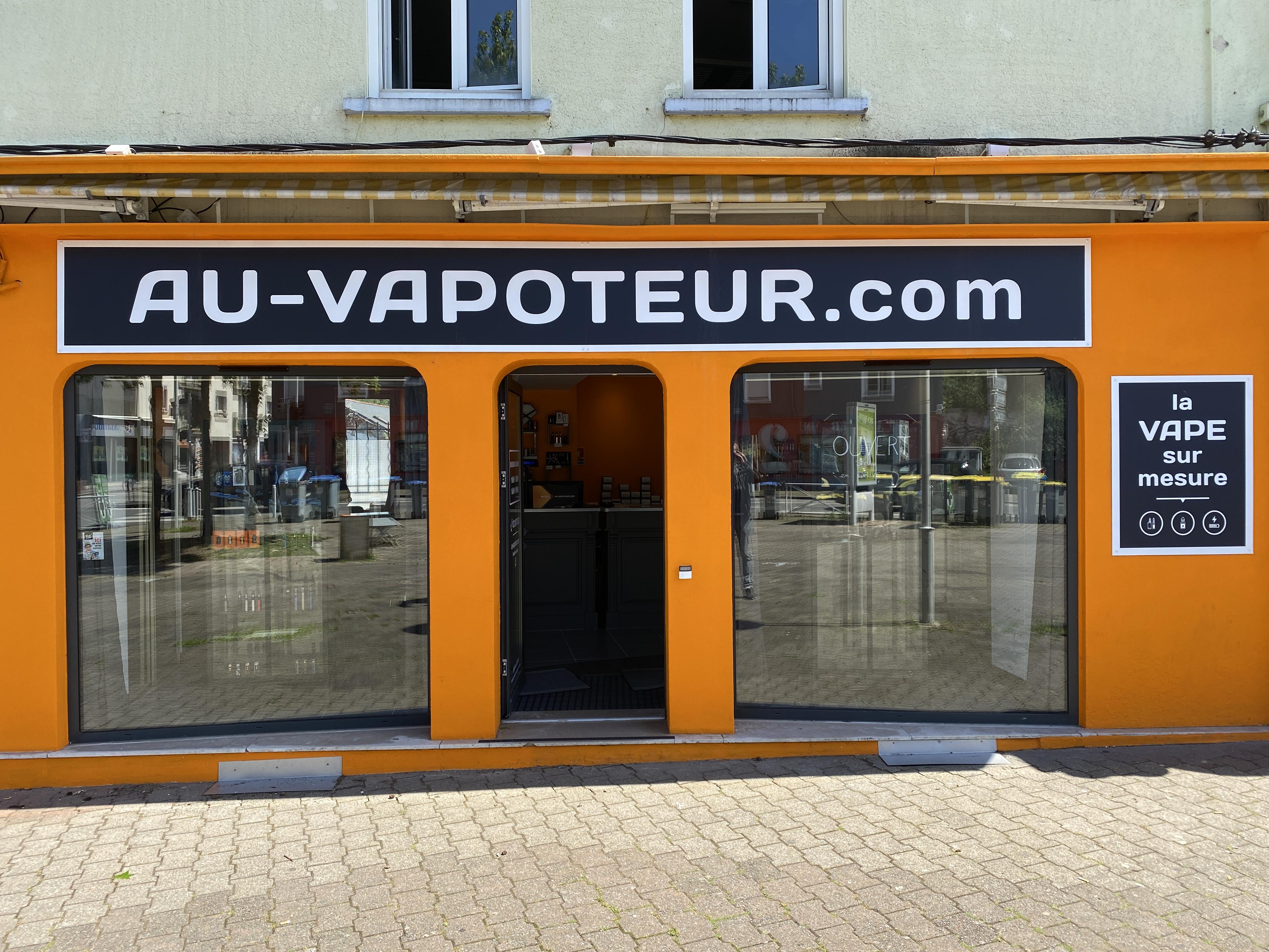 Boutique de vape spécialisée AU-VAPOTEUR.COM située à REZé