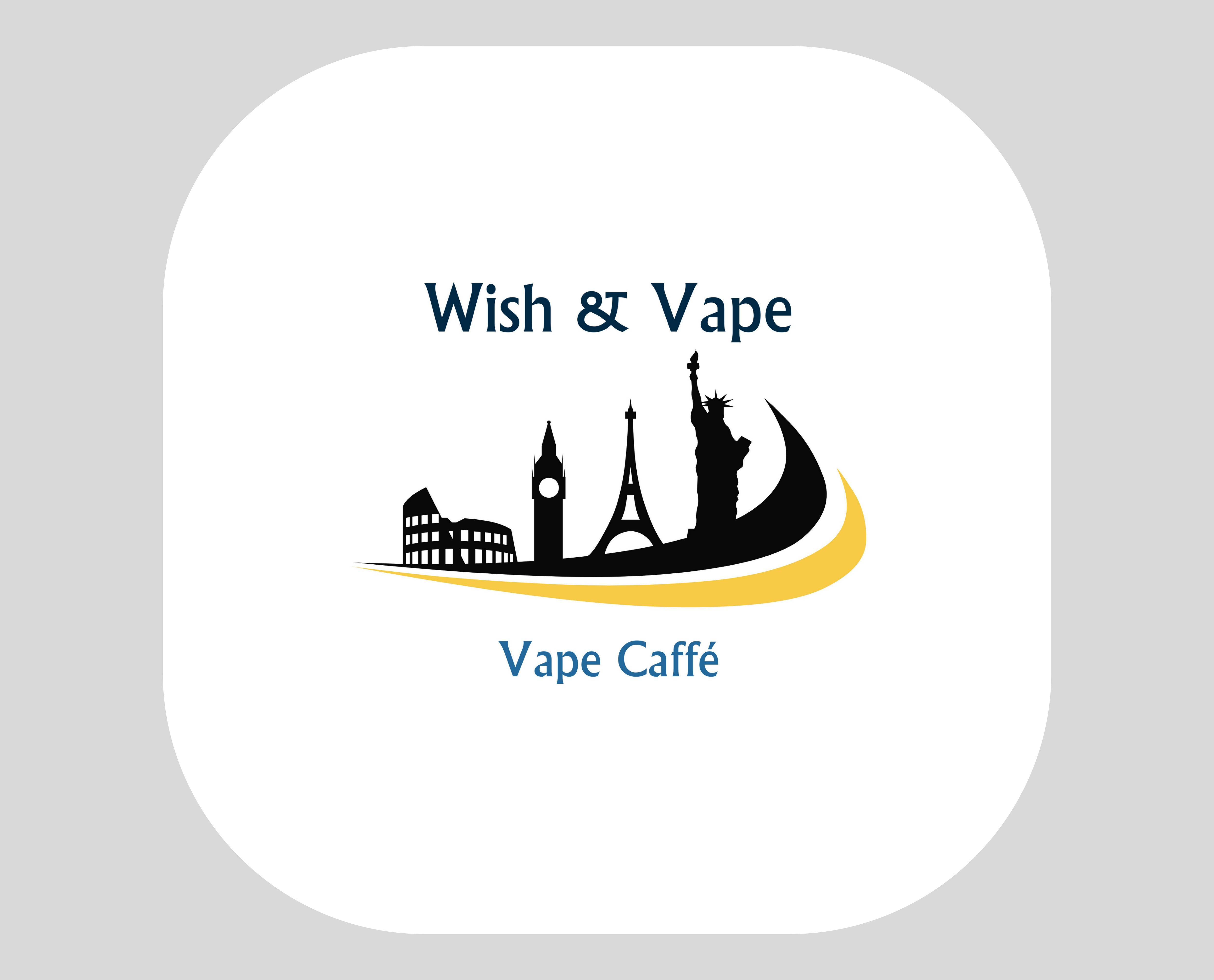 Logo Wish et Vape Caffé