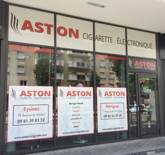 Boutique de vape spécialisée Aston Vapote située à MÉRIGNAC