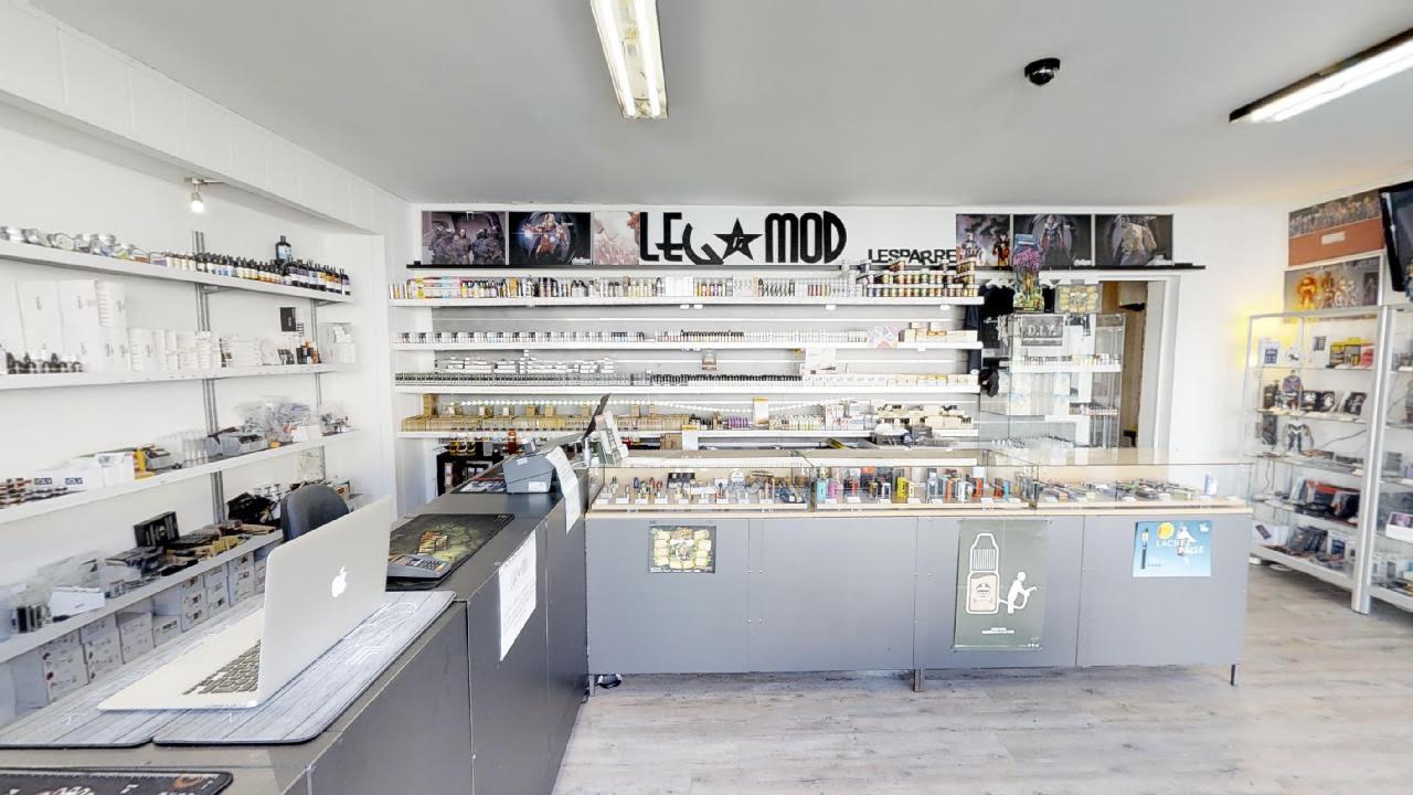 Boutique de vape spécialisée LEG MOD 47 située à LESPARRE-MÉDOC