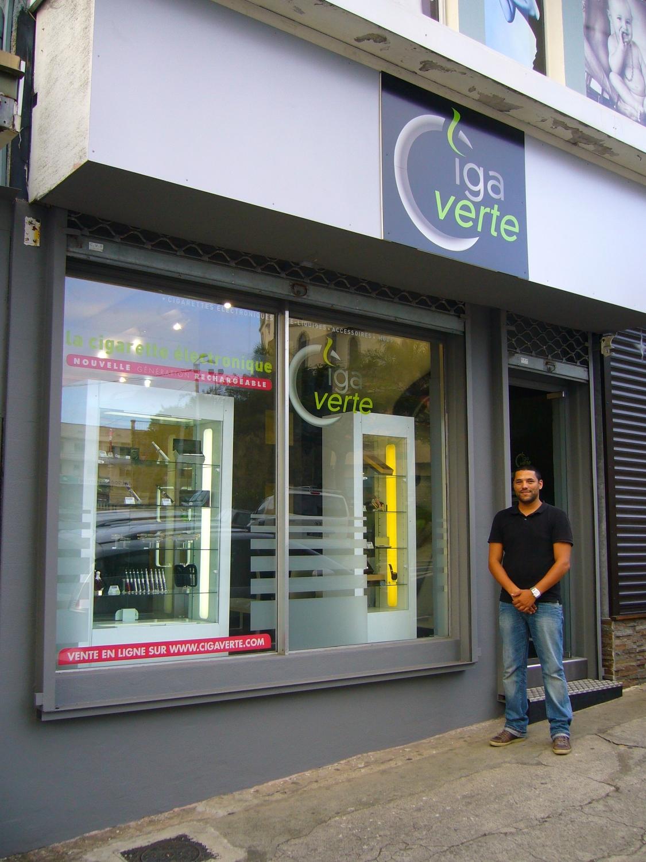 Boutique de vape spécialisée CIGAVERTE située à NOUMÉA