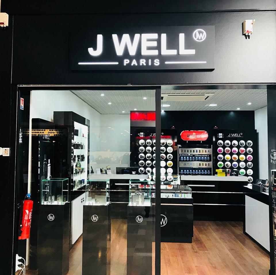 Boutique de vape spécialisée JWELL située à VILLEBAROU