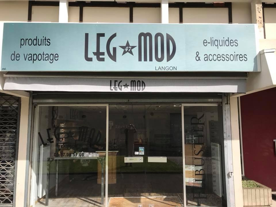Boutique de vape spécialisée LEG MOD 47 située à LANGON