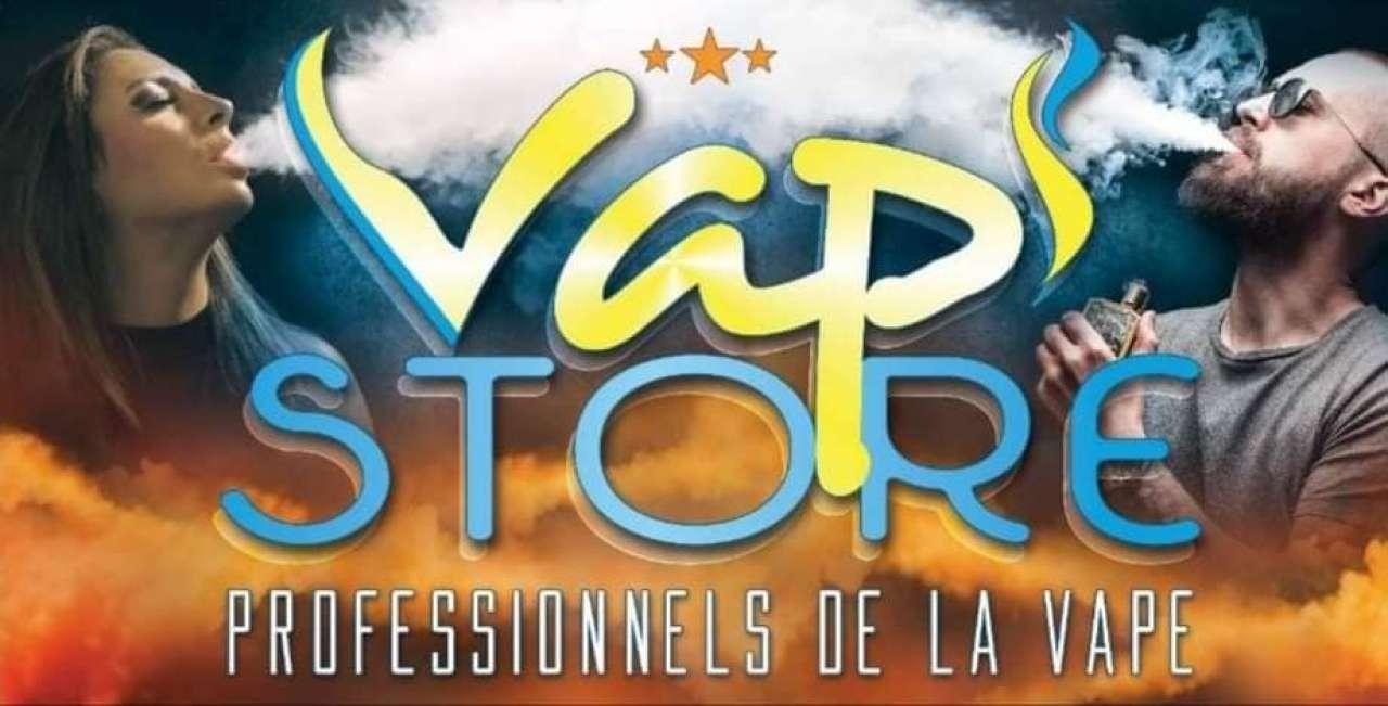 Boutique de vape spécialisée VAP' STORE située à JAUNAY CLAN
