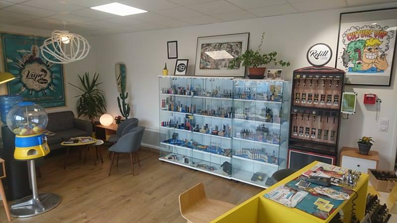 Boutique de vape spécialisée CULTUREVAP située à RENNES