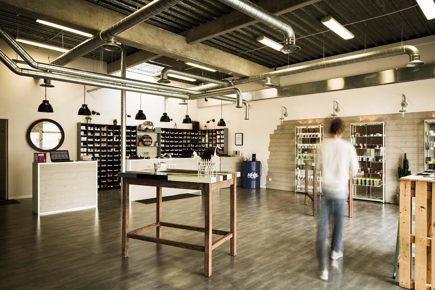Boutique de vape spécialisée STEAMBOX située à ECKBOLSHEIM