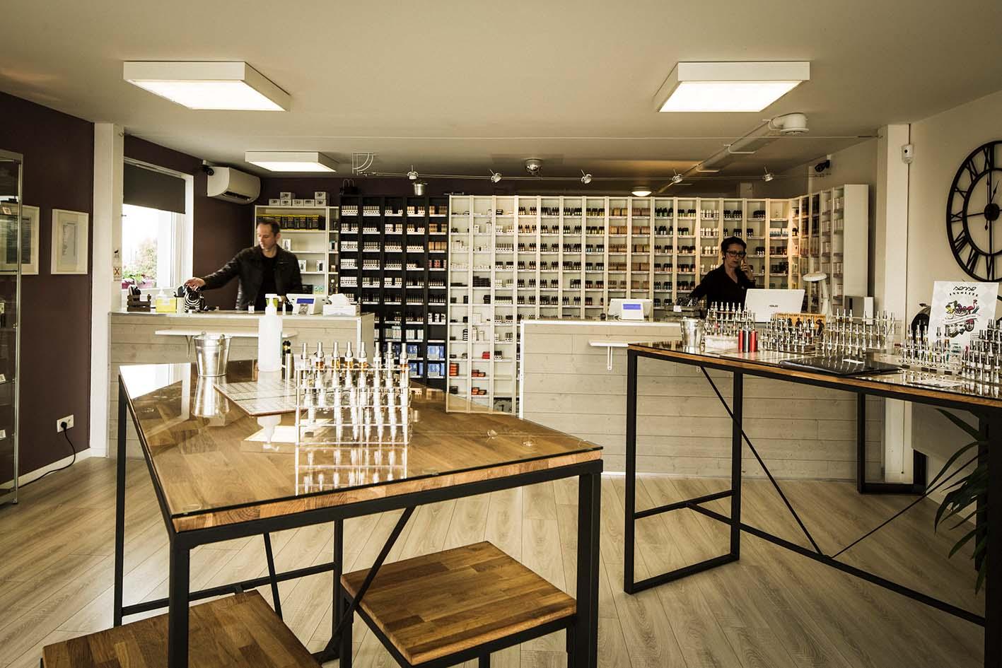 Boutique de vape spécialisée STEAMBOX située à MOLSHEIM