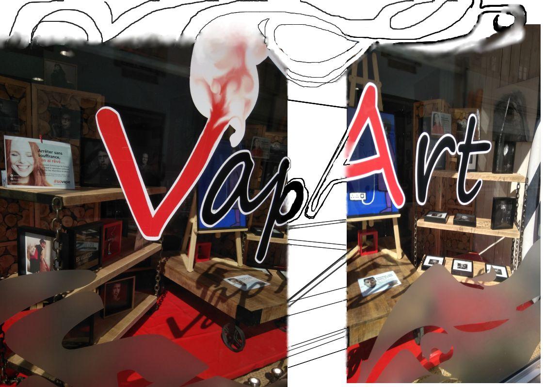 Boutique de vape spécialisée VAP'ART située à PONT-L'ABBé